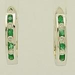 Emeraldanddiamondearrings