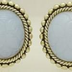 Dweck Chalcedony earrings