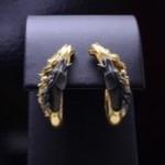 Etruscan Horse Diamond Earrings by Carrera y Carrera