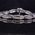 White Gold Diamond Fashion Bracelet