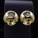 Yellow Gold And Diamond Ear Clips By Black Starr & Frost