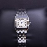 Ladies Stainless Steel Cartier Santos Wrist Watch