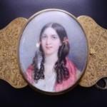 Vintage Yellow Gold Portrait Bracelet