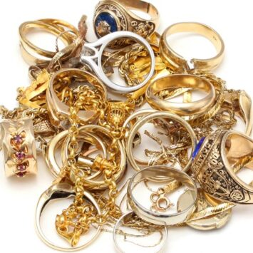 Image of gold, silver, platinum jewelry